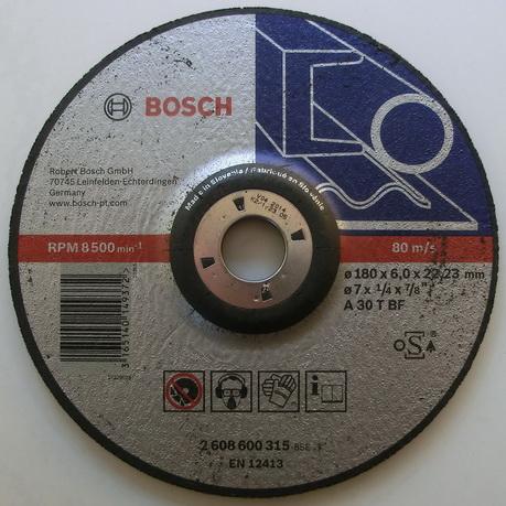 trennscheibe metall bosch 115 bis 230 mm 2 5 bis 6 mm dick ihre auswahl ebay. Black Bedroom Furniture Sets. Home Design Ideas