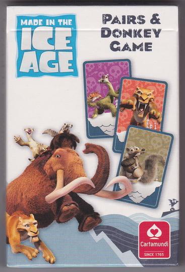 Kartenspiel Quartett - Ice Age - Madagascar 3 - Winnie ...