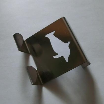 t rhaken edelstahl zum einh ngen ins t rblatt 5 motive 5 x 5 cm rostfrei ebay. Black Bedroom Furniture Sets. Home Design Ideas